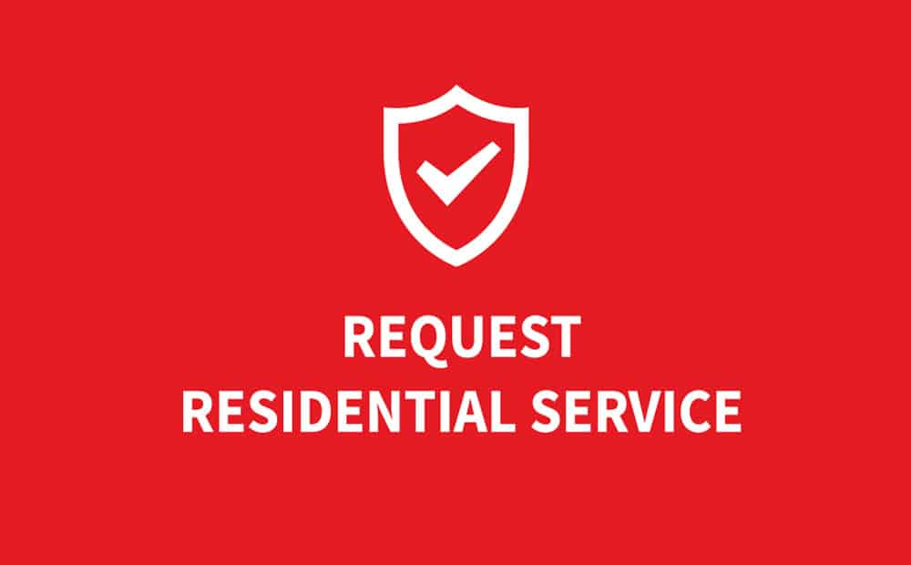 Request Residential Service