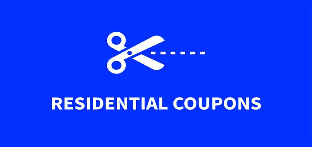 Residential Coupons